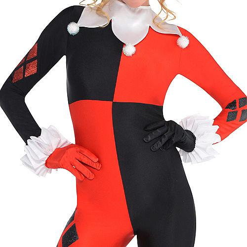 Adult Harley Quinn Jumpsuit Costume - Batman Image #3
