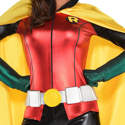 Adult Robin Jumpsuit Costume - DC Comics New 52 Image #3