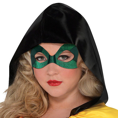 Adult Robin Jumpsuit Costume Plus Size - DC Comics New 52 Image #2