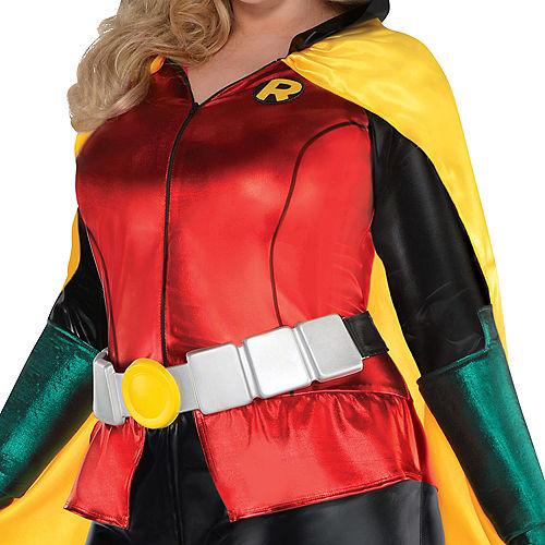 Adult Robin Jumpsuit Costume Plus Size - DC Comics New 52 Image #3