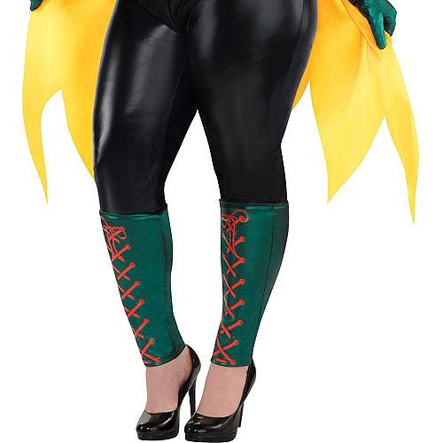 Adult Robin Jumpsuit Costume Plus Size - DC Comics New 52 Image #4