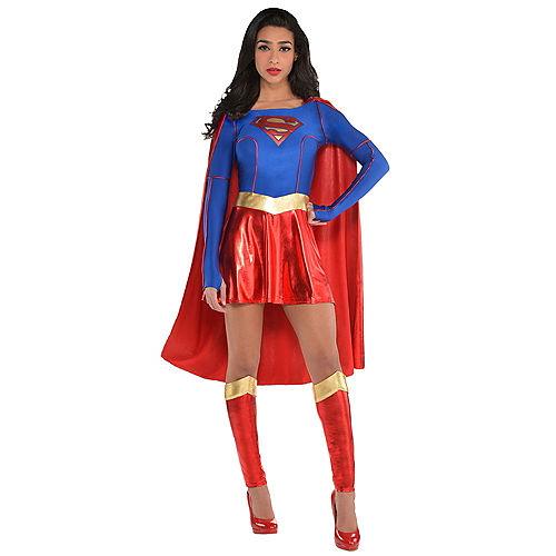 Adult Supergirl Costume - Superman Image #1