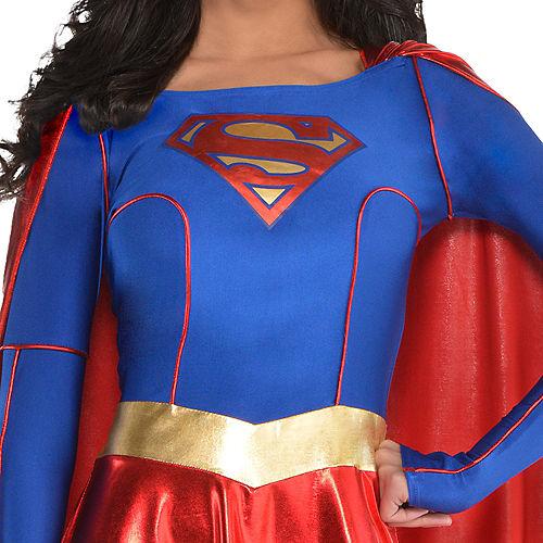 Adult Supergirl Costume - Superman Image #2