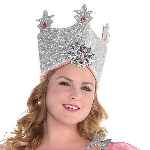 Womens Glinda Costume Plus Size - Wizard of Oz Image #2