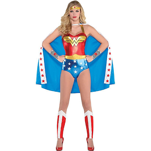 Adult Wonder Woman Bodysuit Costume Image #1