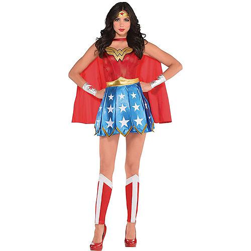 Adult Wonder Woman Costume Image #1