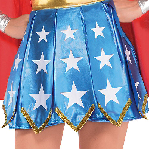 Adult Wonder Woman Costume Image #4