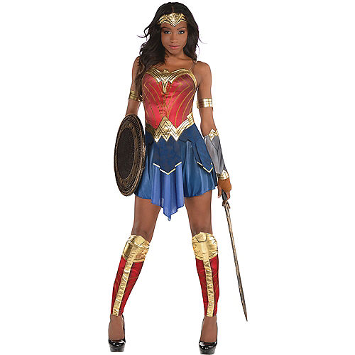 Womens Wonder Woman Costume - Wonder Woman Movie Image #1