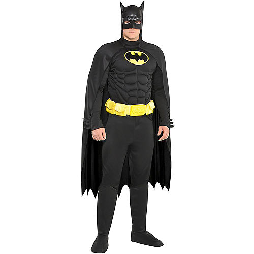Adult Batman Muscle Costume Image #1