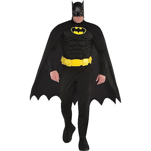 Adult Batman Muscle Costume Plus Size Image #1