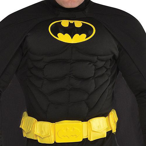 Adult Batman Muscle Costume Plus Size Image #3