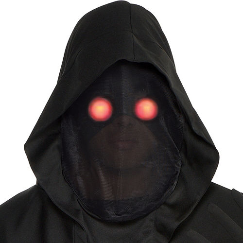 Mens Light-Up Glaring Grim Reaper Costume Image #2