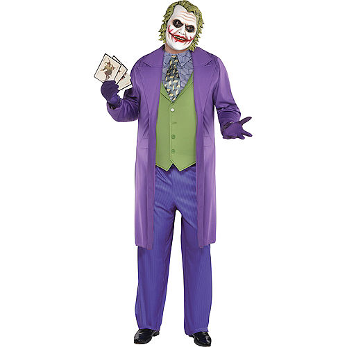 Adult Joker Costume Plus Size - The Dark Knight Image #1