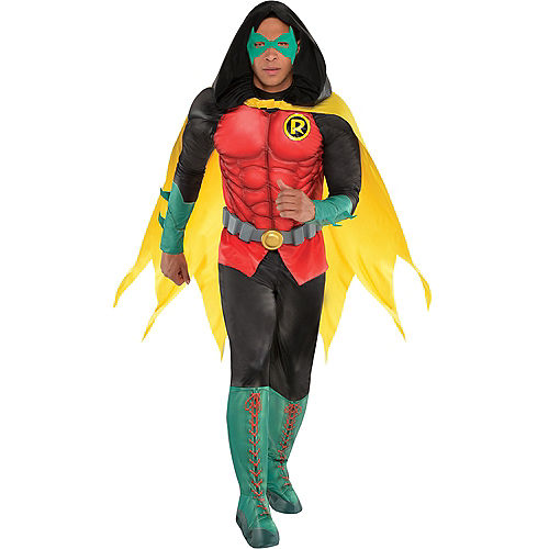 Adult Robin Muscle Costume - DC Comics New 52 Image #1