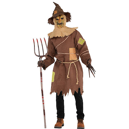 Adult Scary Scarecrow Costume Image #1