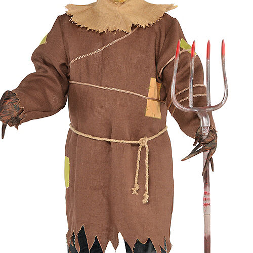 Adult Scary Scarecrow Costume Plus Size Image #3