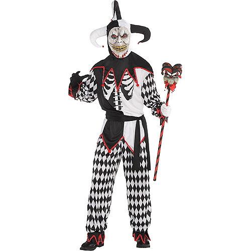 Adult Sinister Jester Costume Image #1
