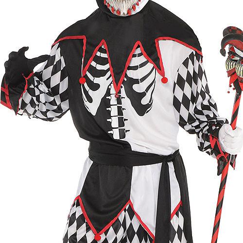 Adult Sinister Jester Costume Image #3