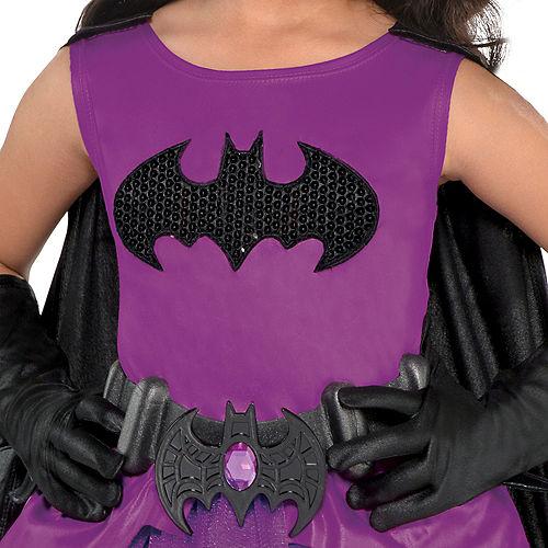 Toddler Girls Purple Batgirl Costume - Batman Image #3
