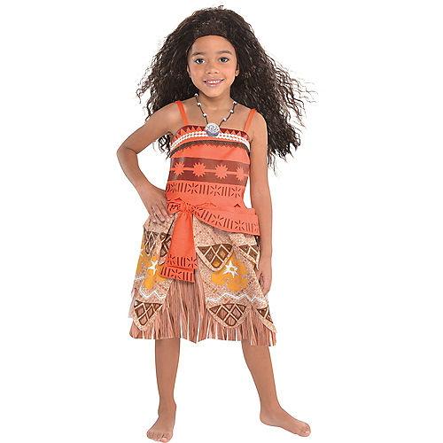 Girls Moana Costume Image #1