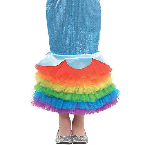 Girls Rainbow Dash Mermaid Costume - My Little Pony Image #4