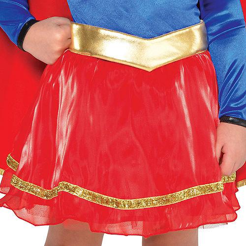 Toddler Girls Classic Supergirl Costume - Superman Image #3