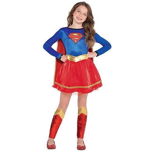 Girls Supergirl Costume - Superman Image #1