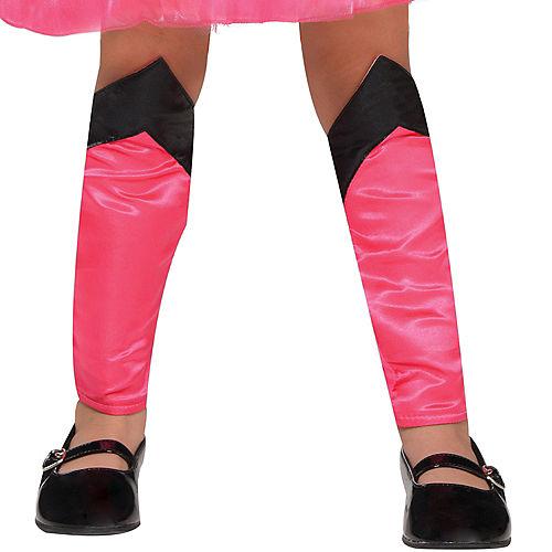Toddler Girls Pink Supergirl Dress Costume - Superman Image #4