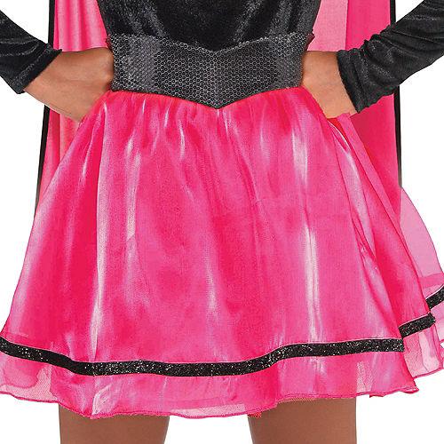 Girls Pink Supergirl Dress Costume - Superman Image #3