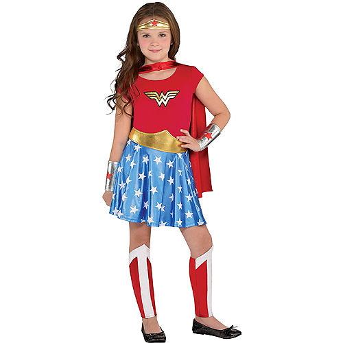 Kids' Wonder Woman Deluxe Costume Image #1