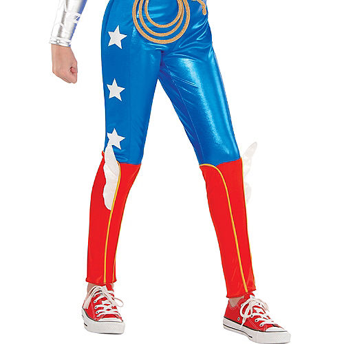 Girls Wonder Woman Jumpsuit Costume - DC Super Hero Girls Image #4