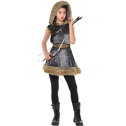 Girls Miss Archer Costume Image #1