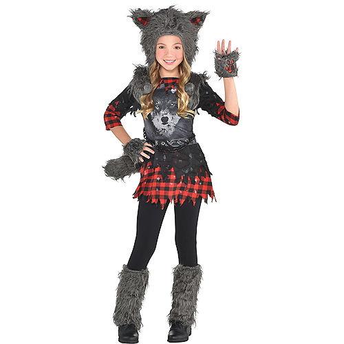 Girls She Wolf Costume Image #1