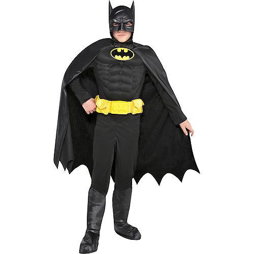Boys Batman Muscle Costume Image #1