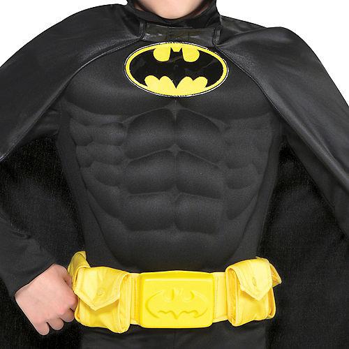 Boys Batman Muscle Costume Image #3
