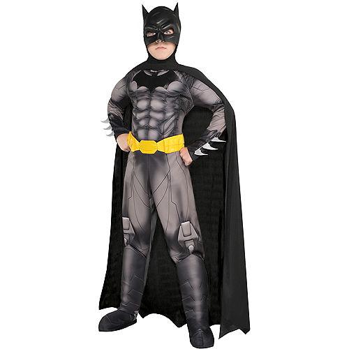 Boys Batman Muscle Costume - DC Comics New 52 Image #1