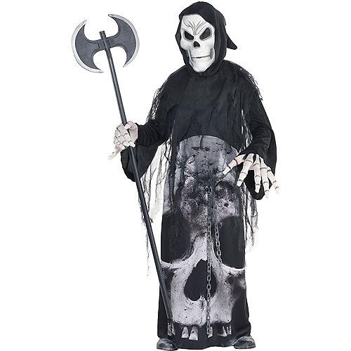 Boys Glow-in-the-Dark Chained Phantom Costume Image #1
