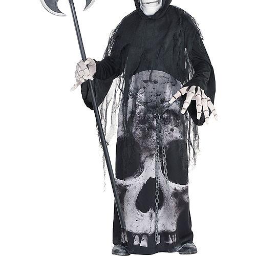 Boys Glow-in-the-Dark Chained Phantom Costume Image #4