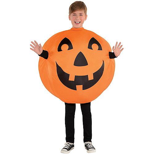 Child Inflatable Jack-o'-Lantern Costume Image #1