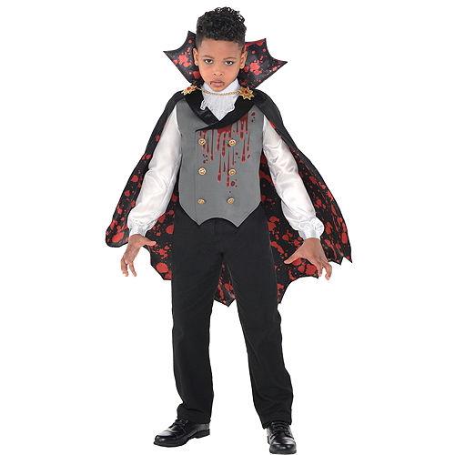 Boys Light-Up Bloody Vampire Costume Image #1