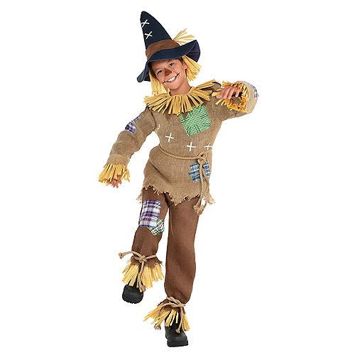 Boys Friendly Scarecrow Costume Image #1