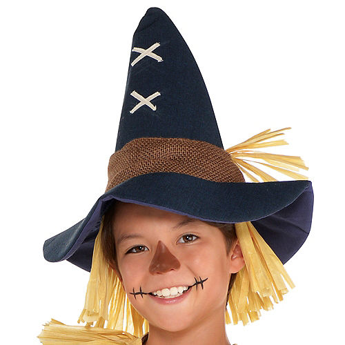Boys Friendly Scarecrow Costume Image #2