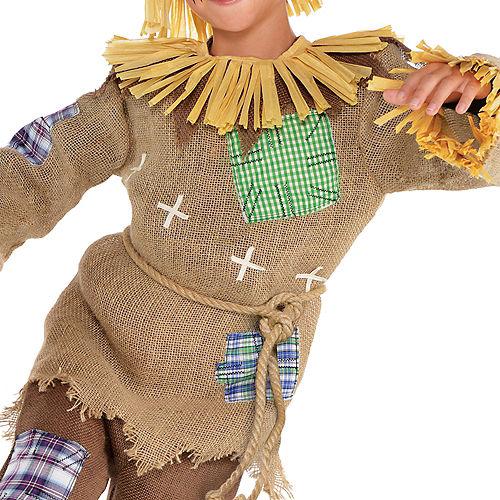 Boys Friendly Scarecrow Costume Image #3