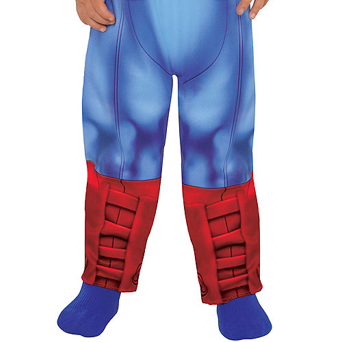 Baby Captain America Muscle Costume Image #4