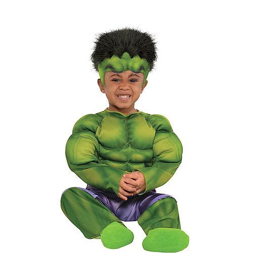 Baby Hulk Muscle Costume Image #1