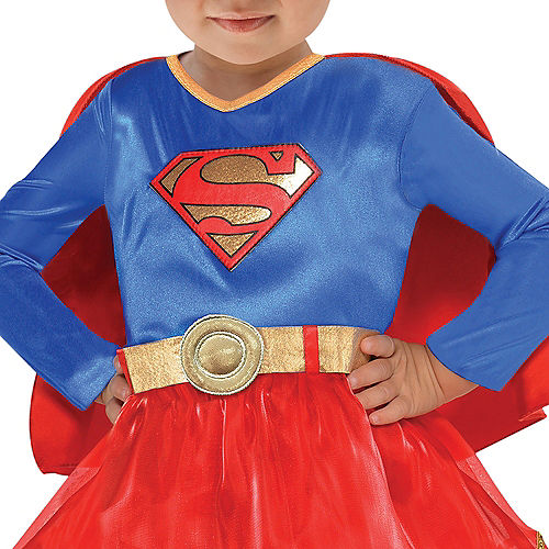 Nav Item for Baby Classic Supergirl Costume - Superman Image #3