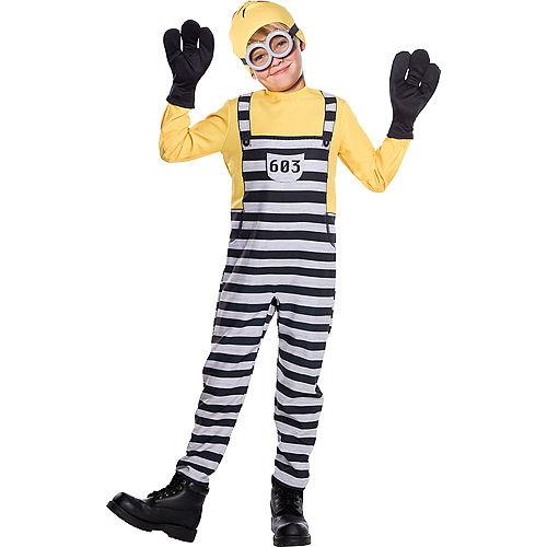 Boys Jail Tom Costume - Despicable Me 3 Image #1