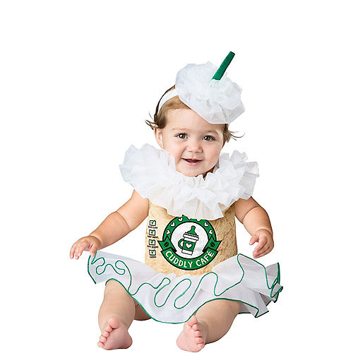 Baby Cappuccino Cutie Coffee Costume Image #1