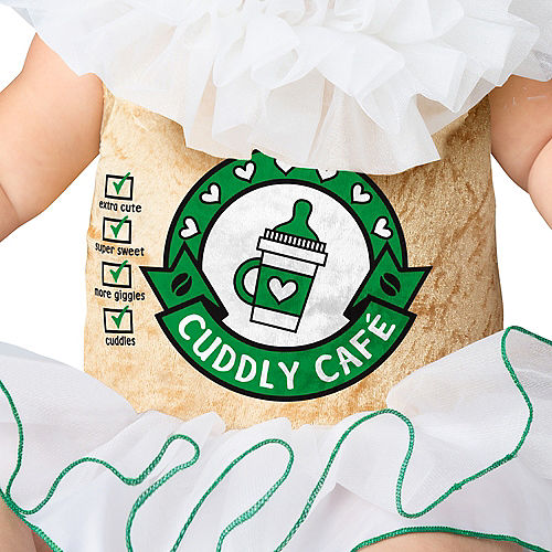 Baby Cappuccino Cutie Coffee Costume Image #3