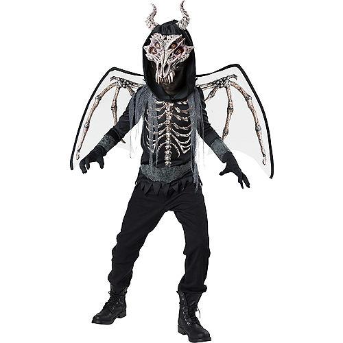 Boys Underworld Skeleton Dragon Costume Image #1